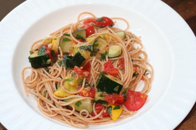 summer squash pasta 4