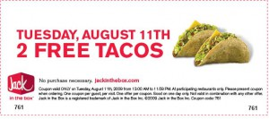 free tacos
