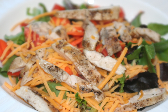 Grilled Chicken Salad - Faithful Provisions