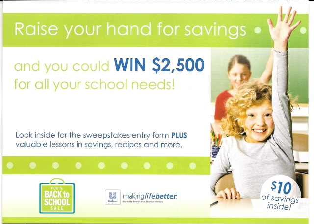 raise your hand for savings booklet