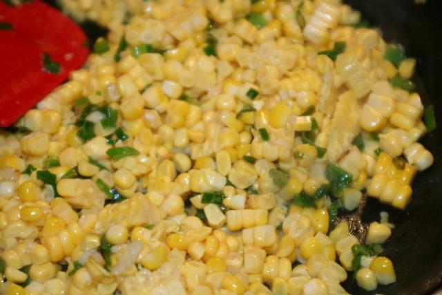 sautee corn