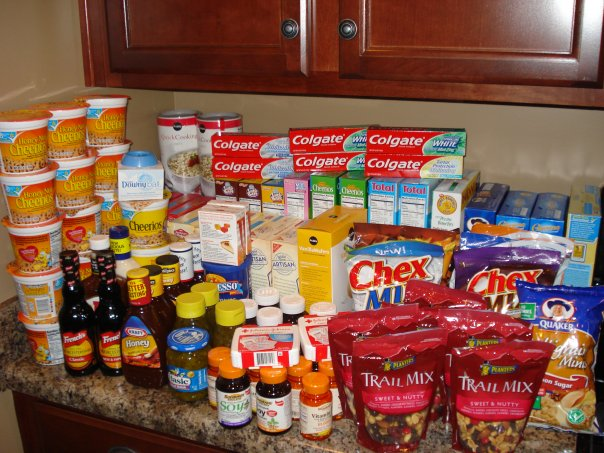 San Antonio Food Bank Shopping List