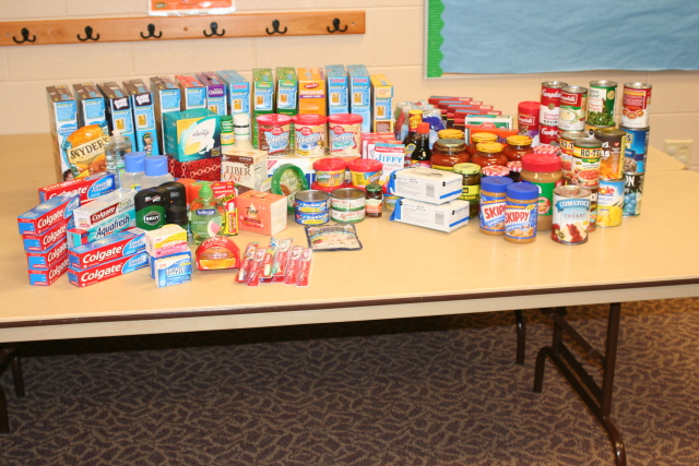 Food donation from only 3 people!