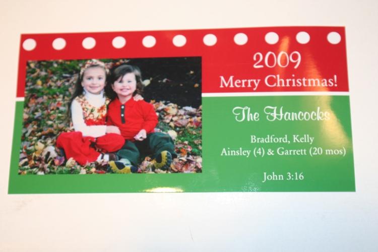 our photocard